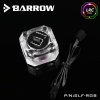 "Barrow Flow Meter G1/4""(RGB)ใบดำ"