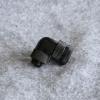 Fitting งอ90 Rotary ท่ออคริลิค14mm ซีล4ชั้น สีดำ