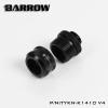 Barrow Fitting K14 V.4 สีดำ ท่ออคริลิค14mm