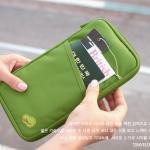 Travelus Handy เคสใส่พาสปอร์ต สีเขียว
