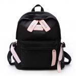[ พร้อมส่ง ] - กระเป๋าเป้แฟชั่น สีดำ สุดเท่ ดีไซน์สวยเก๋ไม่ซ้ำใคร สวยสุดมั่น เหมาะกับสาว ๆ ที่ชอบกระเป๋าเป้น้ำหนักเบาๆ