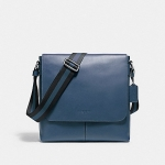 กระเป๋าผู้ชาย COACH รุ่น SULLIVAN SMALL MESSENGER IN SMOOTH LEATHER F72362 : DENIM
