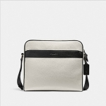 กระเป๋าผู้ชาย COACH CHARLES CAMERA BAG IN COLORBLOCK F26077 : WHITE