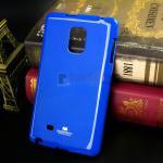 เคส Samsung Galaxy Note Edge ของแท้ 100% รุ่น Jelly Mercury ครอบหลัง สีน้ำเงิน
