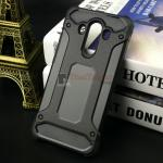 Rugged Hybrid Dual Layer Armor Case Cover For Huawei Mate 10 Pro สีดำ