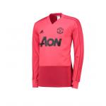 เสื้อเทรนนิ่งแมนเชสเตอร์ ยูไนเต็ด Training Top สีชมพูของแท้