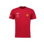 เสื้อทีเชิ้ตแมนเชสเตอร์ ยูไนเต็ด POGBA 6 สีแดงของแท้