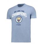 เสื้อทีเชิ้ตแมนเชสเตอร์ ซิตี้ 2018 We Are The Champions ของแท้