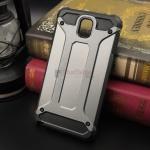 Rugged Hybrid Dual Layer Armor Case Cover For Samsung Galaxy Note 3 สีเมทัลลิก
