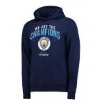 เสื้อฮู้ดแมนเชสเตอร์ ซิตี้ 2018 Premier League Winners We Are Champions Hoodie ของแท้