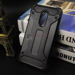 Rugged Hybrid Dual Layer Armor Case Cover For Xiaomi Note 4X สีดำ
