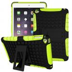 "Hybrid Outdoor Protective Case for iPad mini 1/2/3 7.9"" สีเขียว"