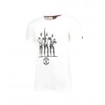เสื้อทีเชิ้ตแมนเชสเตอร์ ยูไนเต็ด Trinity T-Shirt - Off White สีเทาของแท้
