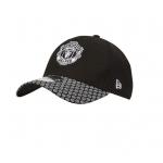 หมวกแก๊ปแมนเชสเตอร์ ยูไนเต็ด New Era 39THIRTY Stretch Hex Weave Visor ของแท้