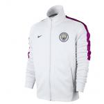 เสื้อแจ็คเก็ตแมนเชสเตอร์ ซิตี้ Franchise Jacket สีขาวของแท้