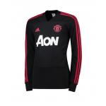 เสื้อเทรนนิ่งแมนเชสเตอร์ ยูไนเต็ด Training Top สีดำของแท้