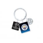 พวงกุญที่ระลึกแมนเชสเตอร์ ซิตี้ UEFA Champions League ของแท้