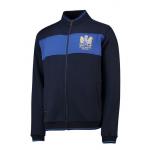 เสื้อแจ็คเก็ตแมนเชสเตอร์ ยูไนเต็ดที่ระลึกครบรอบ 50 ปีแชมป์ยูโรเปี้ยนคัพ 1968 สีน้ำเงินเข้มของแท้