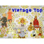 Vintage top & 2nd hand top