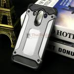 Rugged Hybrid Dual Layer Armor Case Cover For Huawei Mate 10 Pro สีเมทัลลิก