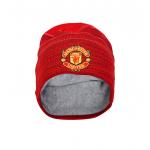 หมวกไหมพรมแมนเชสเตอร์ ยูไนเต็ด New Era Engineered Skull Knit ของแท้