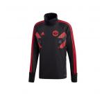 เสื้อเทรนนิ่งแมนเชสเตอร์ ยูไนเต็ด Pre Match Warm Top สีดำของแท้
