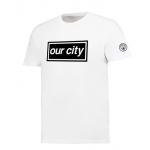 เสื้อทีเชิ้ตแมนเชสเตอร์ ซิตี้ 2018 Boxed Our City ของแท้