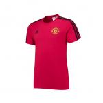 เสื้อทีเชิ้ตแมนเชสเตอร์ ยูไนเต็ด 3 Stripe T-Shirt สีแดงของแท้