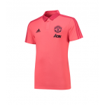 เสื้อโปโลแมนเชสเตอร์ ยูไนเต็ด Training Polo สีชมพูของแท้