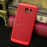 iPaky เคส Samsung Galaxy S6 Edge Plus รุ่น Premuim Case สีแดง
