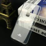 เคส Jelly Mercury ครอบหลัง Samsung Galaxy S9 Plus สีขาวใส