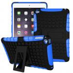 "Hybrid Outdoor Protective Case for iPad mini 1/2/3 7.9"" สีน้ำเงิน"