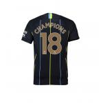 เสื้อไนกี้แมนเชสเตอร์ ซิตี้ 2018 2019 ทีมเยือน Champions 18 ของแท้