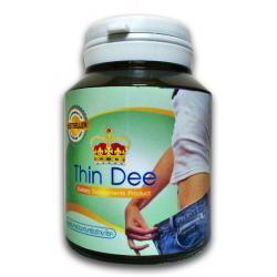 """ธินดี (Thin Dee) ผลิตภัณฑ์เสริมอาหารลดน้ำหนัก สูตรที่ผ่านการทดสอบทั้งมาตรฐานความปลอดภัยและประสิทธิภาพ หน้าที่หลัก 3 อย่าง คือ เผาผลาญไขมัน ฟื้นฟูสุขภาพ และบำรุงผิวพรรณ เน้น การเผาผลาญที่เลียนแบบวิถีธรรมชาติ"""" ไม่โยโย่ เห็นผลจริง ออร์แกนิก 100%"""