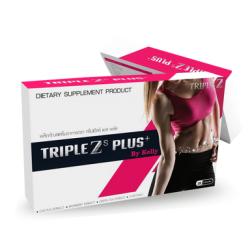 TRIPLEZ S PLUS by Kelly ทริปเปิ้ลซี เอส พลัส บาย เคลลี่ 1 กล่องมี 20 แคปซูล