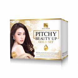 พิชชี่ บิวตี้ อัพ โกลด์เซท Pitchy Beauty Up Gold Set รุ่นใหม่ พิชชี่ครีม 1 ชุด ของแท้ 100% x 6 ชิ้น