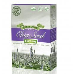 เมล็ดเชีย Chia Seed Nathary เมล็ดธัญพืชเพื่อสุขภาพ ขนาด 165g