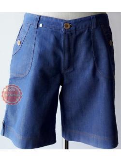 P3:2nd hand pants กางเกงขาสั้นผ้าสียีนส์