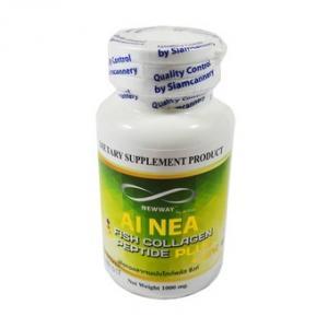 AI NEA Fish Collagen Peptide Plus + Zinc (นิวเวย์ ไอเน่ ฟิชคอลลาเจน เปปไทด์ พลัส ซิงค์) 1 กระปุกมี14 เม็ด