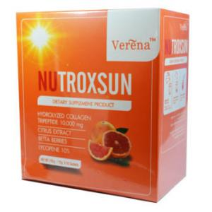 Verena Nutroxsun เวอรีน่า นูทรอกซัน 1 กล่องมี 10 ซอง