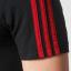 เสื้อทีเชิ้ตแมนเชสเตอร์ ยูไนเต็ด 3 Stripe T-Shirt Black ของแท้ thumbnail 4