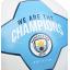 ลูกฟุตบอลแมนเชสเตอร์ ซิตี้ We Are The Champions Football Size 5 ของแท้ thumbnail 4