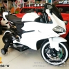 LNM1628S-W รถมอเตอร์ไซค์เด็กนั่งไฟฟ้า Ducati เบาะหนัง