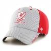 หมวกแก็ปลิเวอร์พูลสีเทา 47 แบรนด์ Mens Grey Red '47 Feeney Cap ของแท้