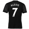 เสื้อแมนเชสเตอร์ ยูไนเต็ด 2017 2018 ทีมเยือน ติดชื่อ Alexis 7 ของแท้