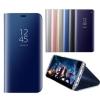 เคส Samsung Galaxy S7 edge Clear View Mirror Leather Flip Stand Cover