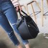 [ พร้อมส่ง HI-End ] - กระเป๋าแฟชั่นเท่ๆ ถือ/สะพาย สีดำคลาสสิค ขนาดกลางเหมาะสำหรับพกพา ดีไซน์สวยเก๋ ดูดี งานหนังคุณภาพ