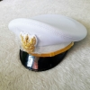 หมวกปกติขาวผู้ชาย หน้าครุฑ สำหรับข้าราชการ ครู เทศบาล อบต.
