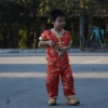 ชุดตรุษจีน กางเกงขายาวเอวยางยืด สวมใสสบาย