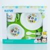 NATUR ชุดภาชนะบรรจุอาหารเด็ก 5 ชิ้น ลายซูมซูม